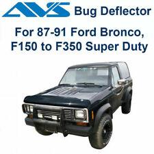 AVS Fits 1987-1991 Ford Pickup Bronco Bugflector II Hood / Bug Protector 25439