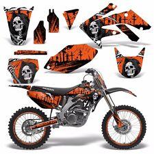Full Graphics Kit Honda CRF250R Dirt Bike Stickers CRF250 CRF 250R 04-05 REAP O