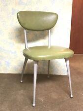 Rare True Vintage 1950s Modern Mid Century Shelby Williams Gazelle Chair  Green