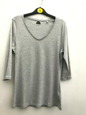 BNWT M/&S V Neck Short Sleeve Shell Top Duckegg Colour RRP £15 Just £5 *Save £10*