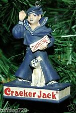 """NEW VINTAGE"" - CRACKER JACK (The Sailor) & BINGO (His Dog) CHRISTMAS ORNAMENT"