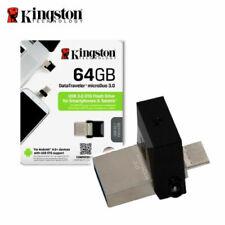 Clé USB 3.0 64Go Kingston DTDUO3 OTG USB&MICRO USB MicroDuo 3.0 Smarphone&Tablet