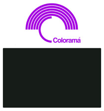 Colorama VELOUR BLACK Fabric Background Roll 1.32m x 7.3m Colorvelour