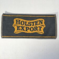 "Vintage Bar Towel Holsten Export 18""x8"" Breweriana Decor"