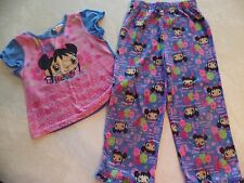 girls 2 PIECE NICKELODEON KAI-LAN PAJAMAS sleepwear PANTS PJ'S SET s/s SIZE 5T