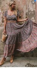 Spell and the Gypsy Collective Designs Jasmine Maxi Skirt Size Small