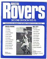 Bristol Rovers v Hull City 1975/6 (13 Mar)