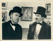 Actors John Beal Peter Brandon Adams Chronicles TV Miniseries Press Photo