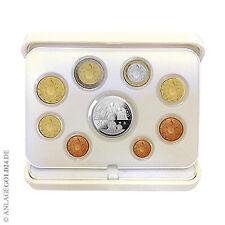 Vatikan EURO-Kurssatz KMS 2017 PP - 1 Cent - 2 Euro mit 20 Euro Silbermünze