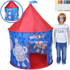 Knorrtoys Color My Tent Spielzelt Wickie zum Bemalen Zelt Kinderzelt Spielhaus