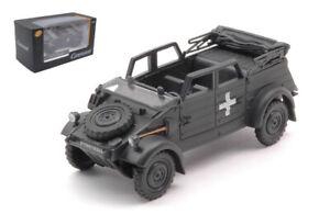 Miniature voiture auto 1 : 43 Demi Militaire Jeep diecast VW Kubel 4x4 Modèl 82