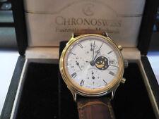 sehr schöne,edle Chronoswiss Armbanduhr