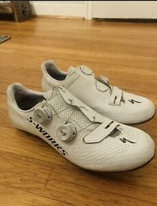 Specialized S-Works 7 Road Cycling Shoes Sz 44 US 10.5 / No Cleats