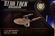 """Star Trek Discovery U.S.S. Enterprise Ncc-1701 Eaglemoss 8 1/2"""" length"""