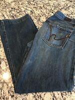 COH Citizens of Humanity Men's Evans Relaxed Fit Button Fly 606 Jeans Size 34