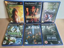 Familia de acción PS2 | 6 Paquete | King Kong, Tmnt, Xmen, Zahra, Narnia, Piratas coche