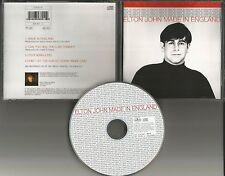 ELTON JOHN Made in England 4TRX w/ 2 RARE LIVE TRX Europe CD single USA seller