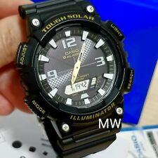 New Casio Black Dial Tough Solar Men Sport Watch AQ-S810W-1BVDF AQ-S810W-1B