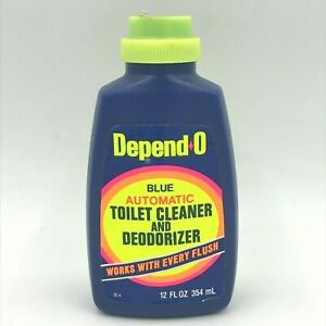 Vintage Depend-O Blue Automatic Toilet Cleaner Deodorizer Boyle Midway TSH0