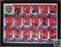 UPDATED Framed ARSENAL Premier League Team 20/21, lovely gift for a GUNNERS fan