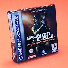 SPLINTER CELL PANDORA TOMORROW GAMEBOY ADVANCE GBA Nintendo Game Boy ADV