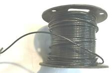 Black 12 AWG THHN Stranded Wire 6.2 LB Spool NOS