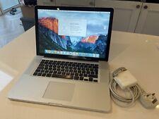 "Apple MacBook Pro A1286 15.4"" - 256gb SSD UPGRADE"