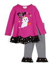 BONNIE JEAN® Toddler Girl 4T Boo Ghost Halloween Top & Legging Set NWT $55