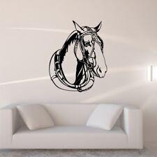 WORK HORSE vinyl wall decal bedroom living room den wall stickers