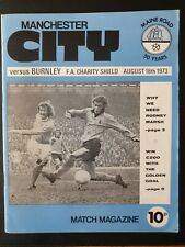 More details for 1973 charity shield -  manchester city v burnley