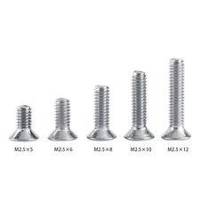 M 2.5 M3 M4 304 A2 Stainless Steel Torx Screw Flat Head Countersunk Hex Socket E