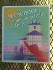 Autism & Special Needs Software, My School: Language Activities Of Daily Living.