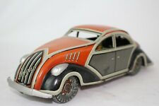 Ingap Toys, 1937 Fiat Tin Windup Streamline Coupe, Nice Original