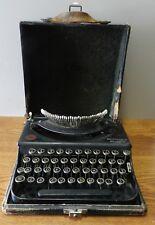 1921 Remington Portable # 1 typewriter serial # NL11317 original case needs work