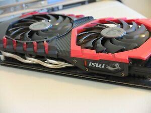 MSI NVIDIA GeForce GTX 1060 Gaming 6GB GDDR5 Graphics Card