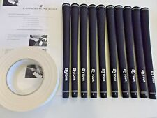 10 x Golf Grips with tape and instructions *Brand New*