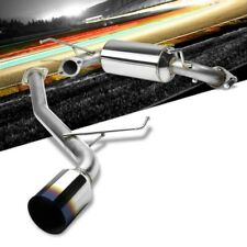 "4.5"" Burnt Muffler Tip Exhaust Catback System For 00-05 Celica GT/GTS 1.8L DOHC"