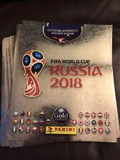 Panini World Cup 2018 Russia GOLD Edition Sticker Collection Album