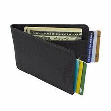 Mens Slim Money Clip Wallet RFID Pocket ID Credit Card Holder Case