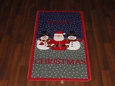 CHRISTMAS RUNNER SANTA NON SLIP NEW MATS/RUGS SCHOOL/HOME 57CMX110CM BARGAINS