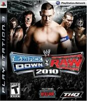 Used PS3 WWE Smackdown 2010 vs Raw