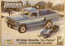 Revell 1/24 Jeep Honcho Pickup Truck (Ice Patrol) W/ Ski Mobile Model Kit