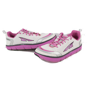 Altra Intuition 3 Womens Size 8.5 Gym Jogging Running Shoes Sneakers White Pink