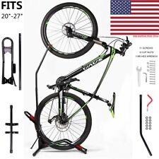 Vertical Upright Bike Rack Stand Floor Adjustable Bicycle Holder Carrier Storage