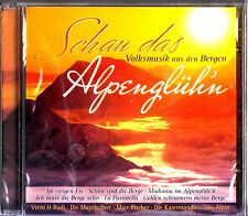 Schau Das Alpengluehn- The Best of CD NEW (Vreni & Rudi/Marc Pircher/Trio Alpin)