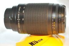 Nikon AF G Zoom-Nikkor 70-300mm f/4-5.6 FX lens for N80 F100 D500 DF D7200 D800