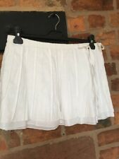 Miss Selftidge 100% Linen  Mini Skirt Size 10 VGC