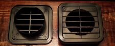 2 inch Black Plastic Square Under Cabinet Air Vent 2 Pack, Home / RV / Anywhere