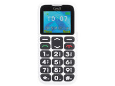 Telefono Cellulare per Anziani con Tasti Grandi TREVI Sicuro 10 Bianco