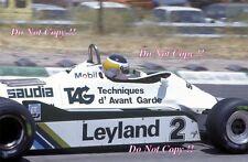 CARLOS REUTEMANN Williams FW07C Gran Premio di Spagna 1981 fotografia 2